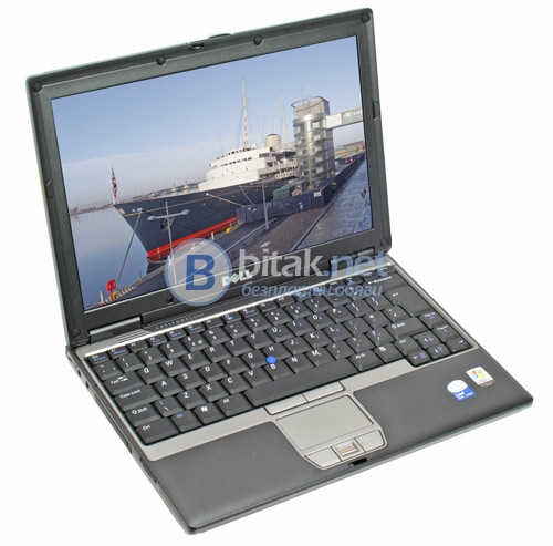 "Лаптоп dell d430, core 2 duo u7600 1.2 ghz, 2 gb ram, 80 gb hdd, wifi, 12.1"" lcd, windows"