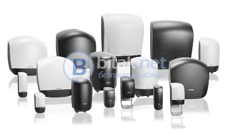Професионални  дозатори за течен сапун душ гел, шампоан и дезинфектант