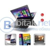 """Лаптоп lenovo ideapad flex 2 /15.6""""/ touch/ intel i3-4030u - black  - предложение от онлай"""