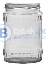 Нови стъклени буркани 580мл.