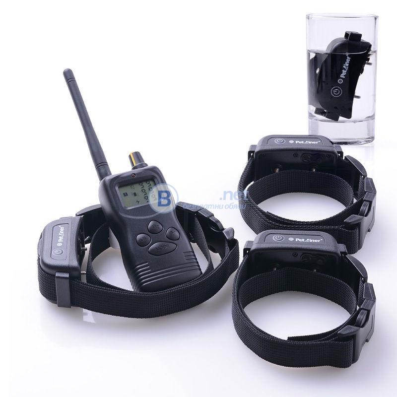 Електронен нашийник телетакт за обучение на кучета, бийпър  и нашийник против лай лаене  и