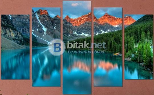 Vivid home. декоративни панели за стена с красив планински пейзаж