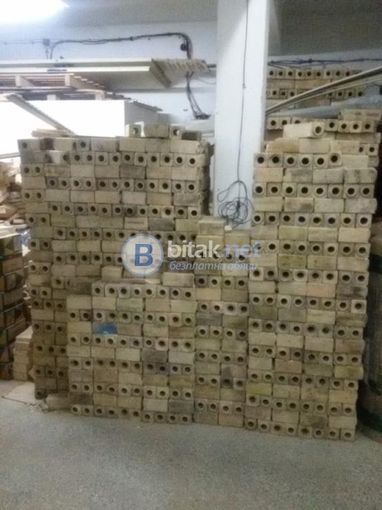 Нови огнеупорни тухли за камини пещи барбекюта и за свод (5000 броя) варна цена от 0.75 лв