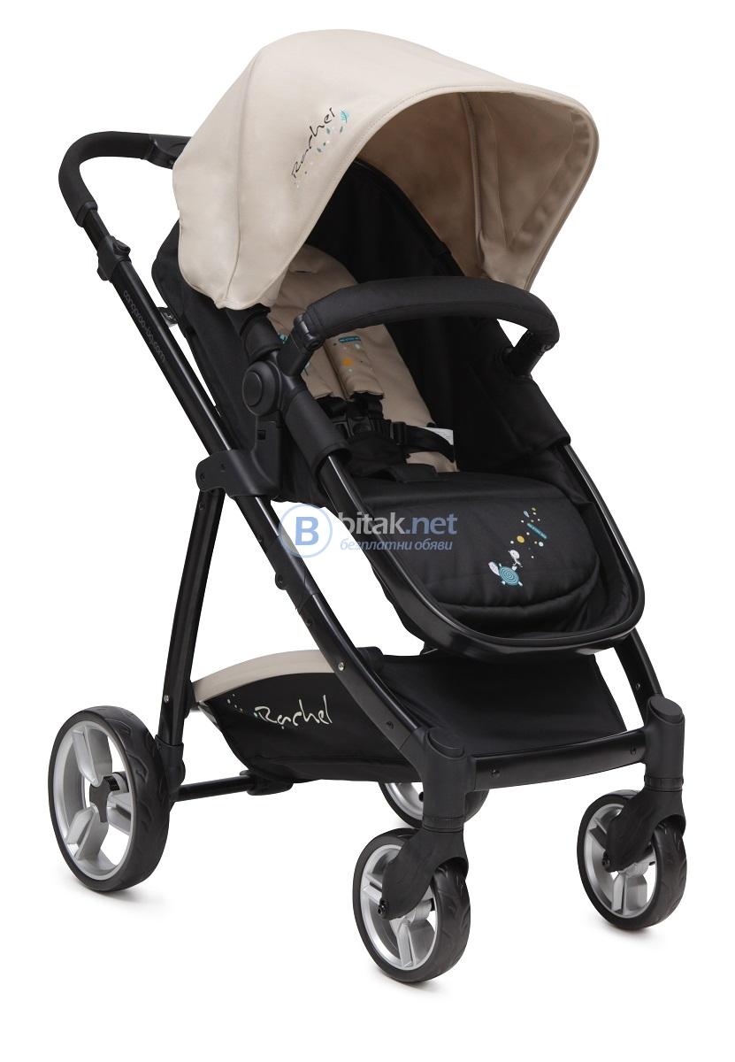 Детска комбинирана количка cangaroo rachel 2015
