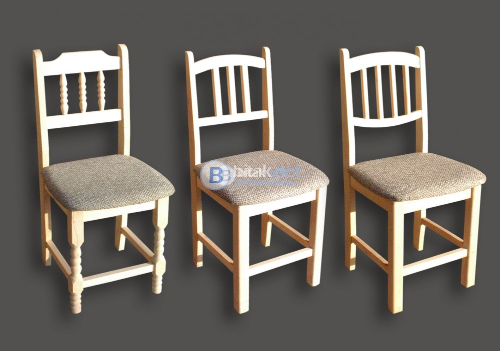Стол с тапицирана седалка - 3 модела на една цена. варна