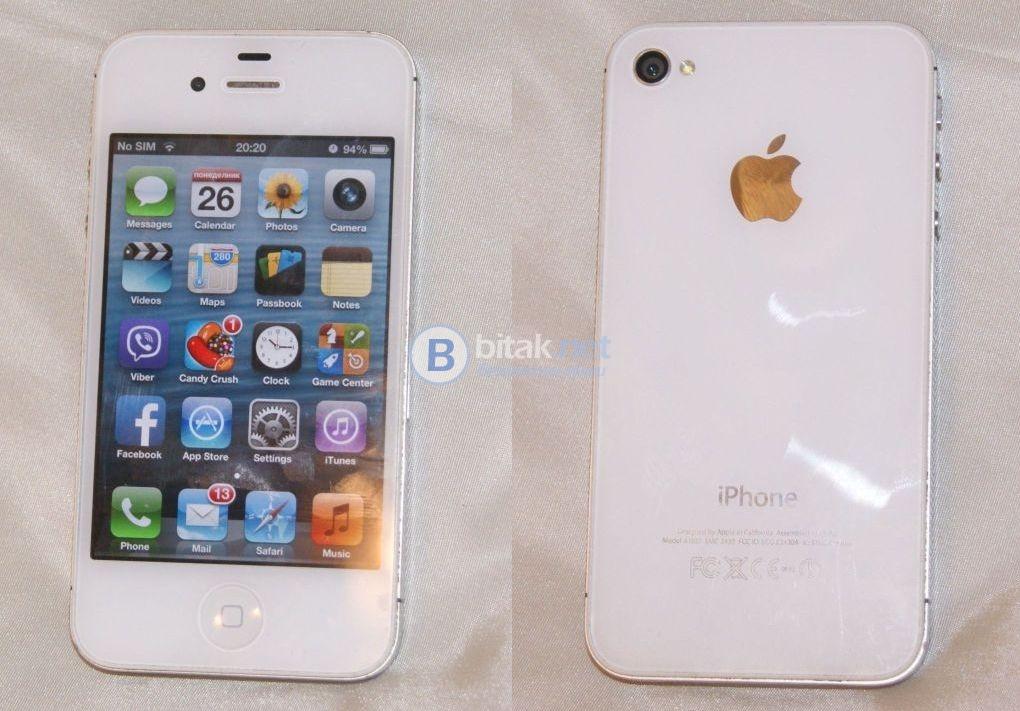 Продавам iphone 4s 16gb - бял