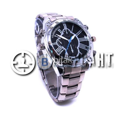 Ръчен часовник с метална верижка и камера 110