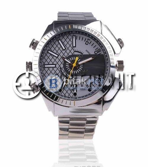 Метален ръчен часовник с камера за нощно снимане 105