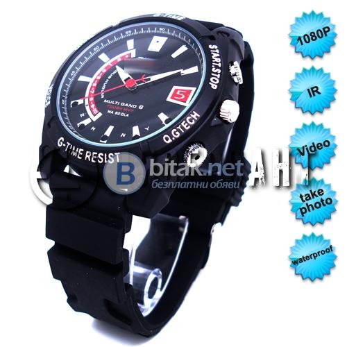 Водоустойчив ръчен часовник с ir камера 101
