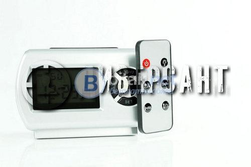 Скрита hd камера с нощно виждане в електронен будилник 207