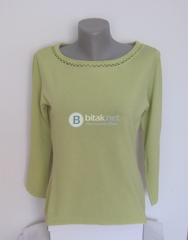 Зелена блуза