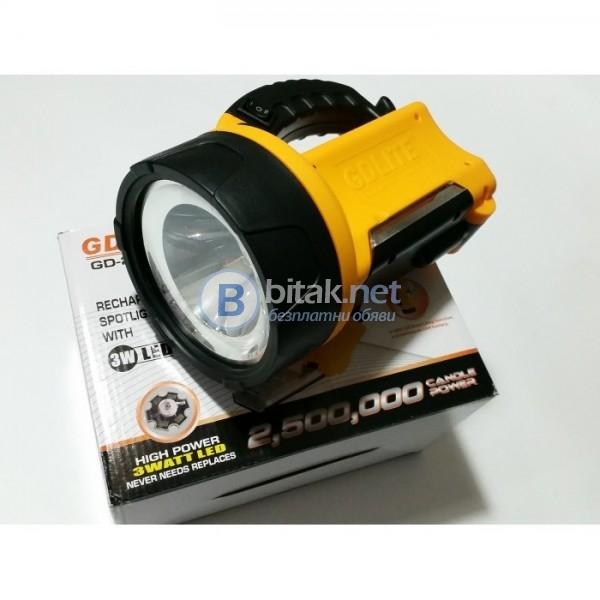 Мощен led фенер gd-2901t