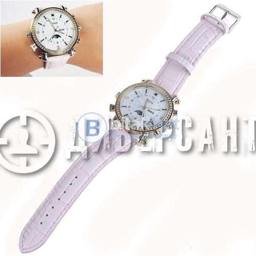 Елегантен дамски часовник с mp3 и скрита камера 119