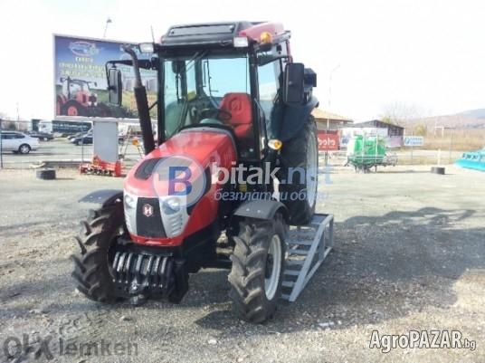 Трактор hattat,модел c3065-лозаро-овощарки+вентилаторна пръскачка florida-италия
