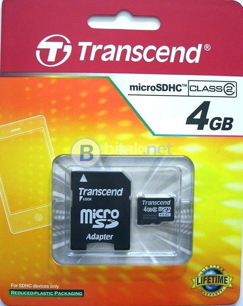 Memory картa micro sd card 4gb с доживотна гаранция
