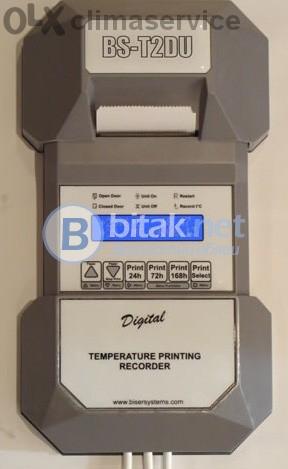 Електронен термограф за хладилни камиони