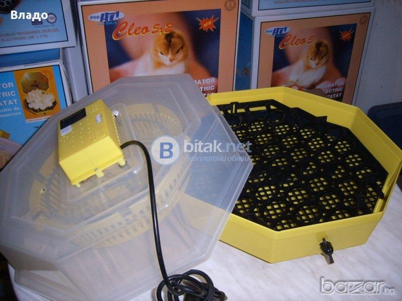 Инкубатор полуавтоматичен 41бр яйца с влагомер