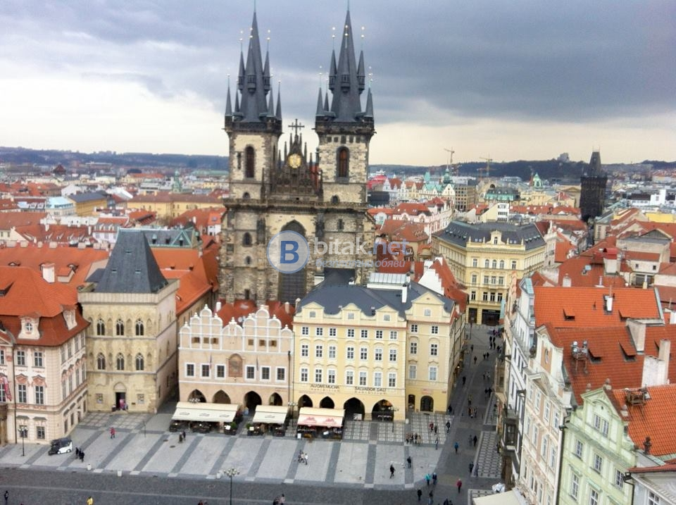 Прага на полупансион