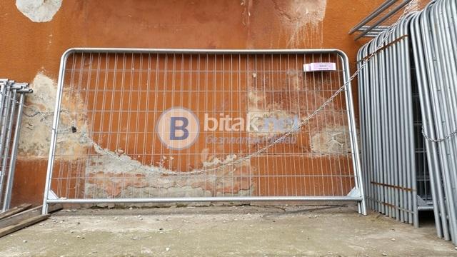 Мобилни огради под наем в Пловдив
