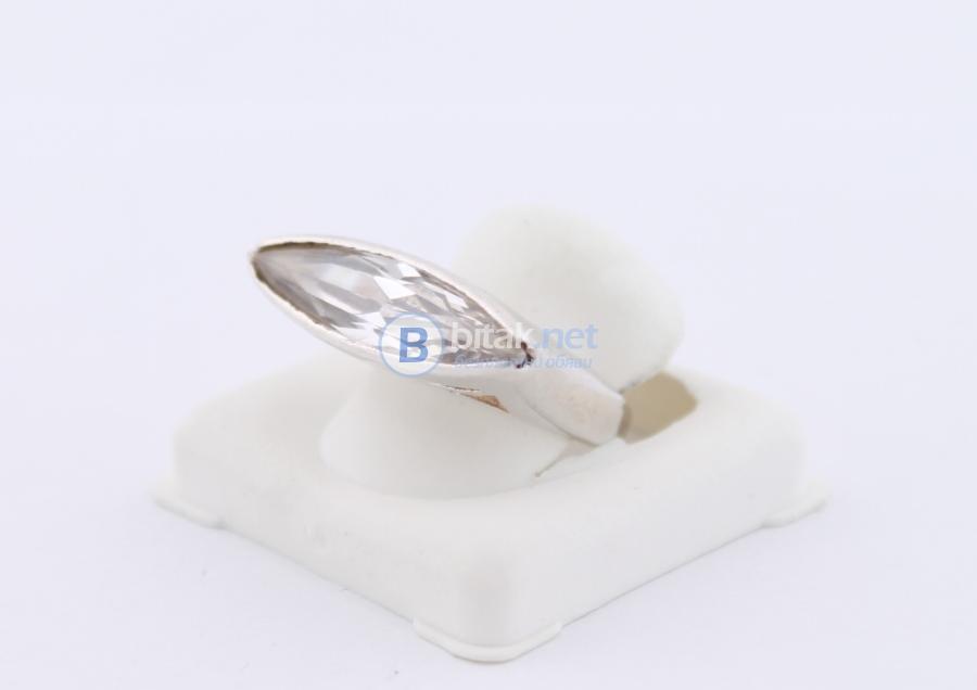 Сребърен пръстен - 8.52 гр - 21.30 лв