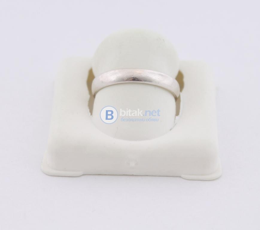 Сребърен пръстен - 1.69 гр - 5 лв