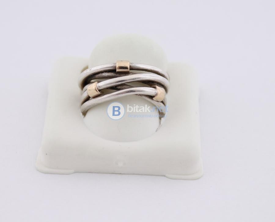 Сребърен пръстен - 7.38 гр - 30 лв
