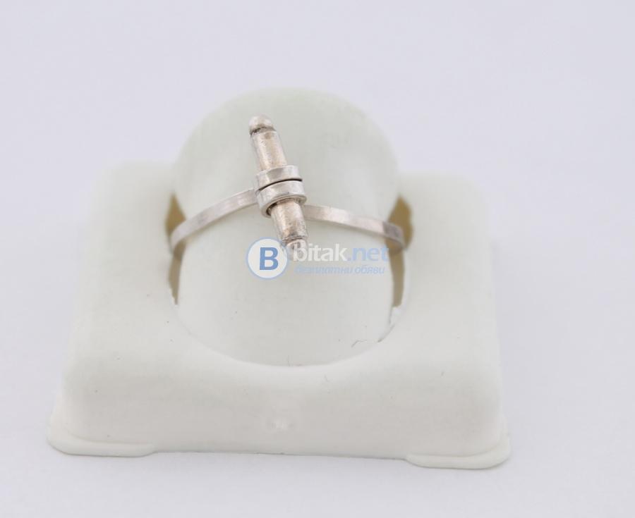 Сребърен пръстен - 1.24 гр - 4 лв