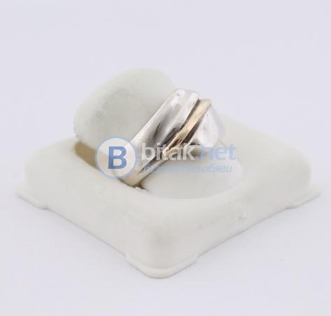 Сребърен пръстен - 5.42 гр - 16.30 лв