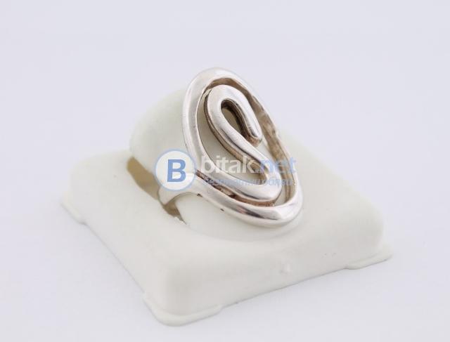 Сребърен пръстен - 7.67 гр - 23 лв