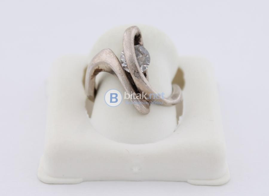 Сребърен пръстен - 4,17 гр - 12.50 лв