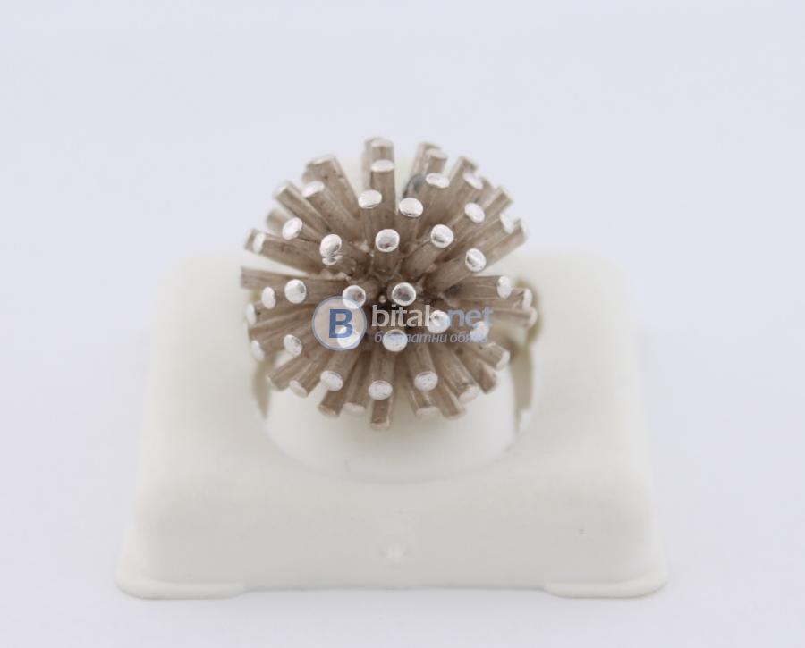 Сребърен пръстен - 11.90 гр - 35.70 лв