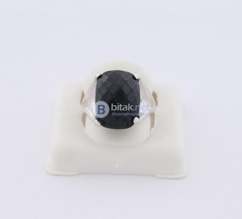Сребърен пръстен - 7,91 гр - 28 лв