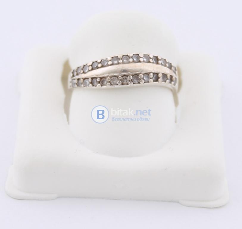 Сребърен пръстен - 2.09 гр - 6.30 лв
