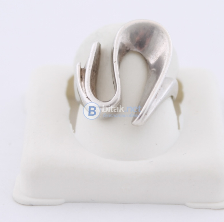 Сребърен пръстен - 4.70 гр - 14.00 лв