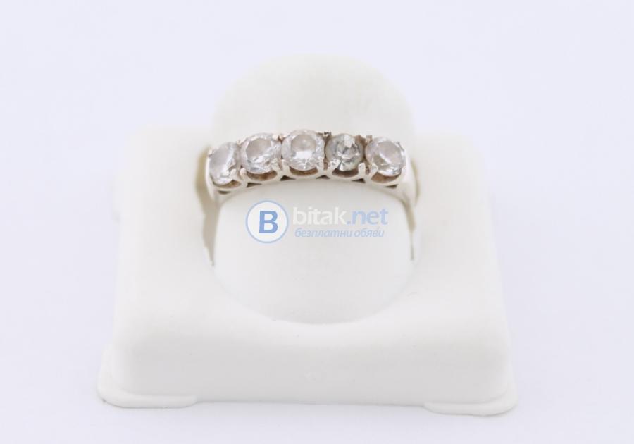 Сребърен пръстен - 2.58 гр - 7.70 лв