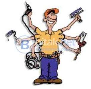 Строителство, ремонти, довършителни работи