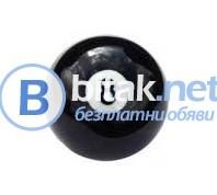 N:8 black ball 57 mm билярдна топка 8