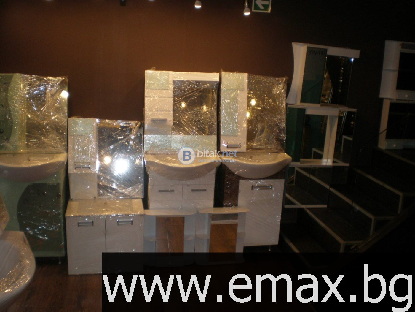 Мебели за баня по поръчка от pvc, водоустойчиви мебели за баня