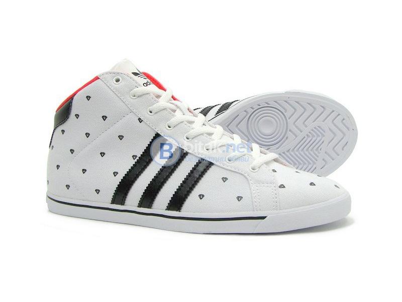 Adidas оригинални court slim mid дамски кецове