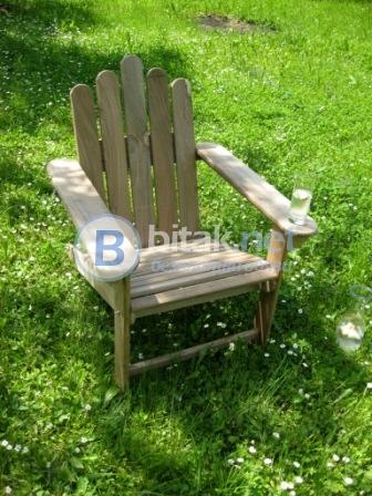 Градински стол - adirondack