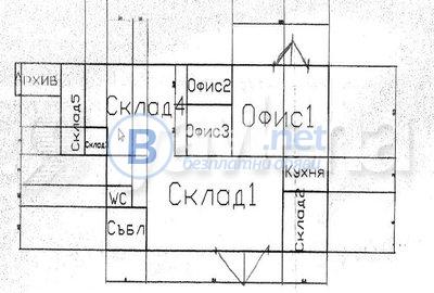 Наем складови площи, гр. софия, дианабад id: 63647
