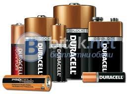 Продавам батерии duracell- акумул. и алкални аа, ааа,9v