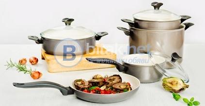 Комплекти керамични съдове за готвене делимано