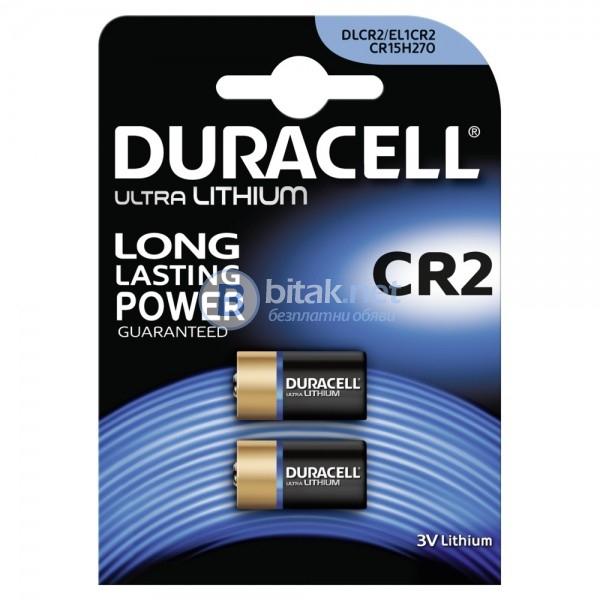 Duracell photo lithium cr2