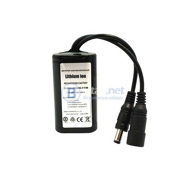 Батерия 2-icr18650c-pcm 2200mah