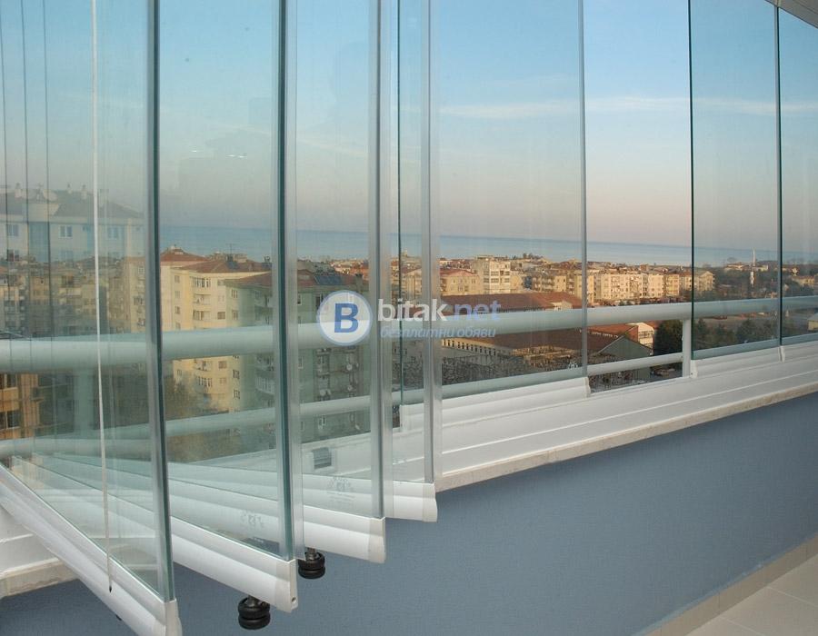 Безпрофилни стъклени системи за хотели, заведения, тераси