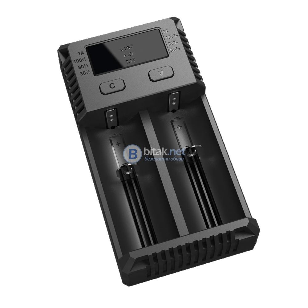 Зарядни устройства- Nitecore New i2 ,New i4, SC2