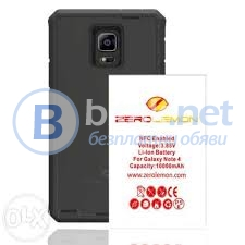 Комплект zerolemon за galaxy note4 10000mah+калъф