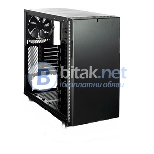 Кутия за компютър fractal define r5 blackout edn window