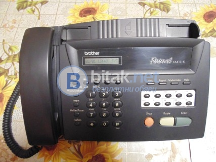 Апарат brother personal fax - 515